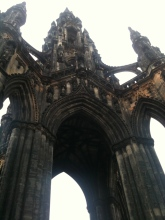 The Scott Monument is a Victorian Gothic monument to Scottish author Sir Walter Scott.