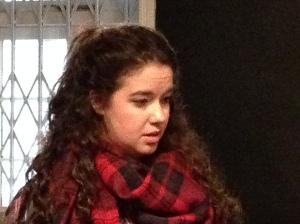 Eleanor Dillon Reams in rehearsal