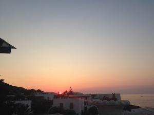 sunset italy