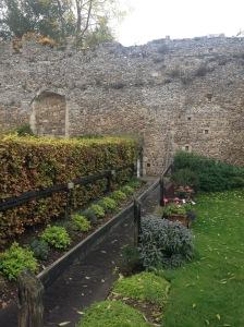 Saxon wall, archaeology England