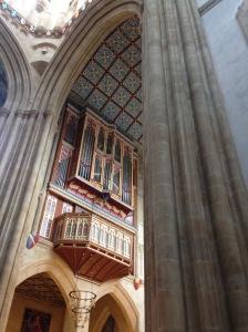 Cathedral organ