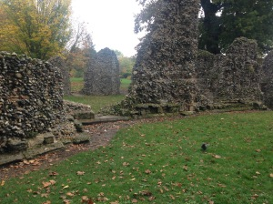 Abbey ruins, Bury