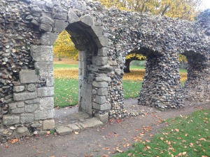 Ruins Bury Abbey